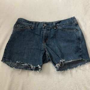 Vintage Lucky Brand Dungaree Cutoff Shorts